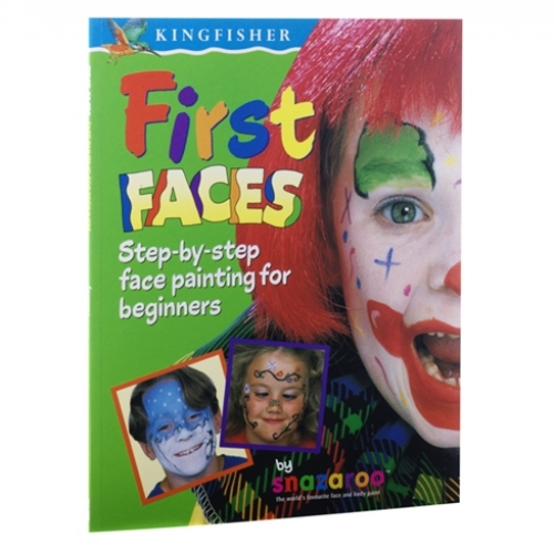 Livro Pinturas Faciais - First Faces