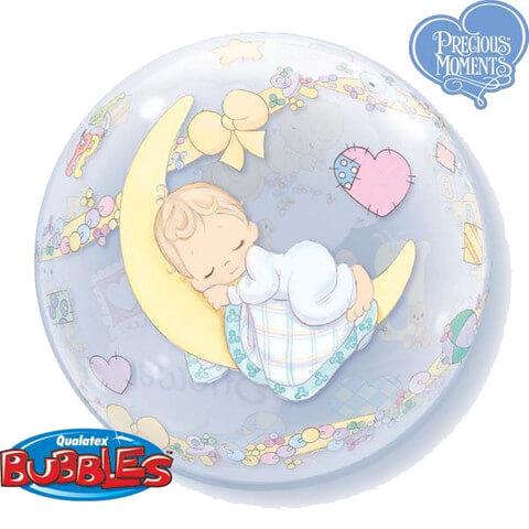 Balnia Precious Moments Baby Shower Bubble Balloon